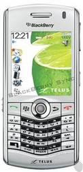 Silver Telus Blackberry Pearl