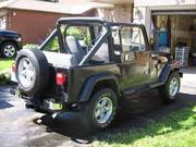 1990 Jeep YJ Laredo - Black,  5spd,  6cyl