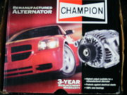 1968 Dodge Charger Reconditioned Alternator