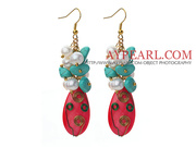 Assorted Freshwater Pearl and Hot Shell Earrings