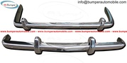 Rolls-royce Bentley S1,  S2 bumper in stainless steel
