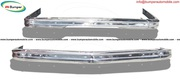 BMW E21 bumper in stainless steel