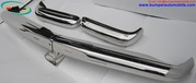 Mercedes Pagode W113 bumper kit in stainless steel