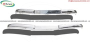 Mercedes  W136 170 Vb bumper (1952 – 1953) stainless steel