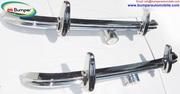 Swallow Doretti  bumper kit (1954 - 1955) by stainless steel