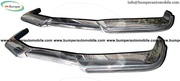 Volvo P1800 bumper kit in stainless steel